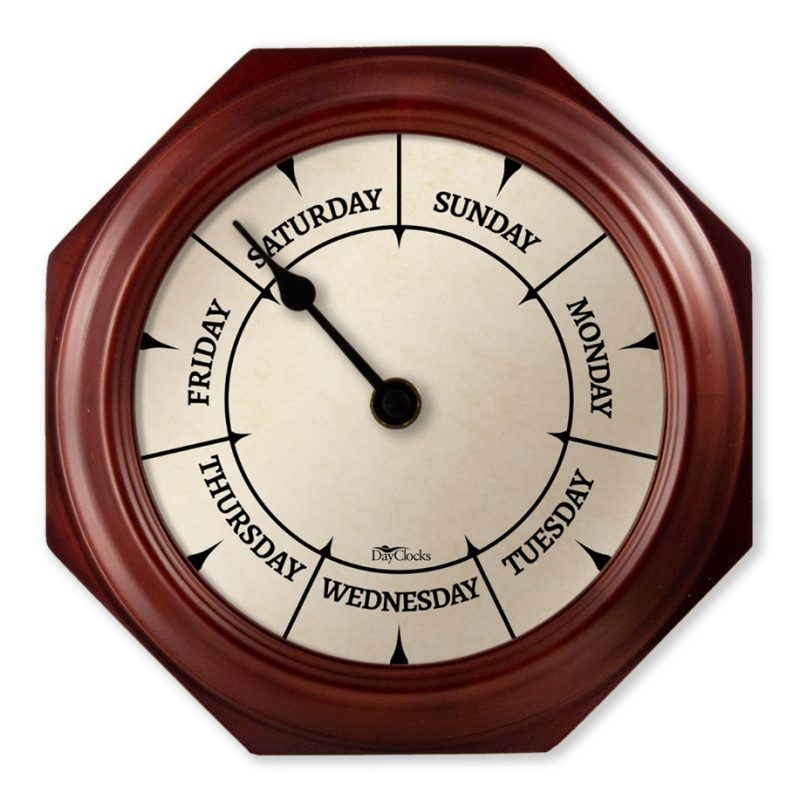 The Original Day-of-the-Week Wall Clock! – DayClocks