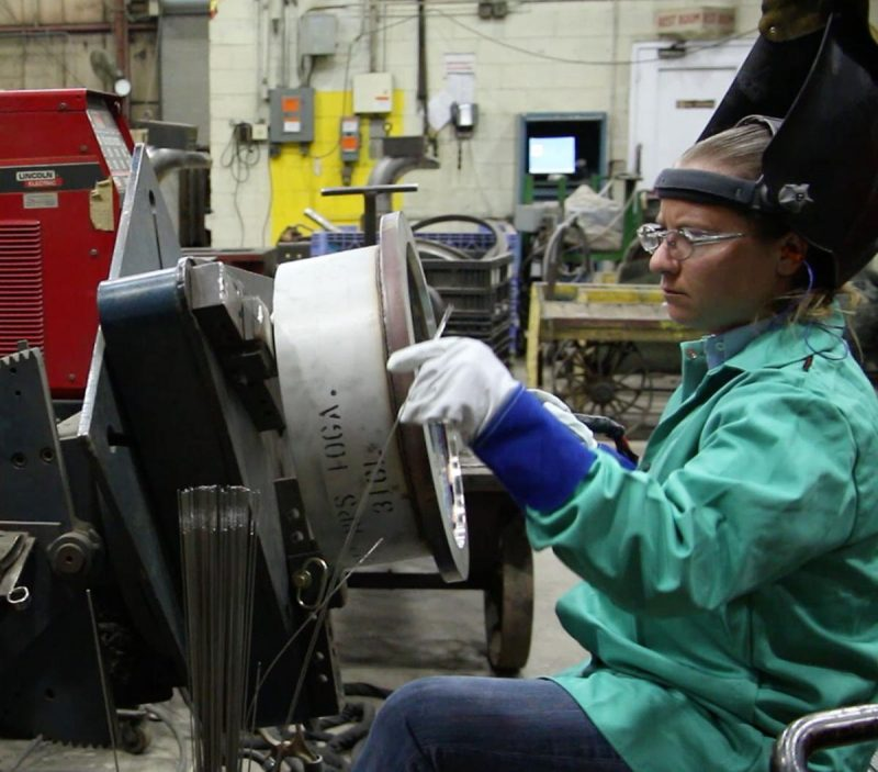 Woman finds challenge, fit for her creativity in welding job | Local News | lacrossetribune.com