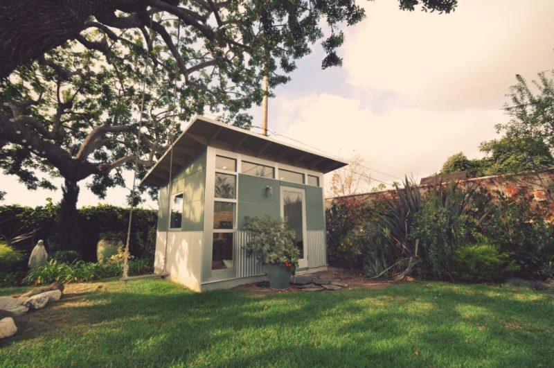 Fairytale Backyards: 30 Magical Garden Sheds   Backyard sheds, Studio shed, Backyard shed