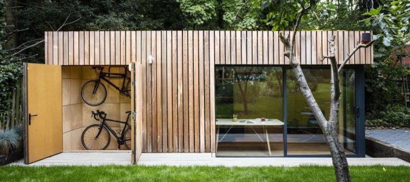 Garden room addition #garden #room #gardenroom Our garden rooms are a stunning addition to your outdoor space. Garden in 2020   Garden cabins, Modern shed, Building a shed