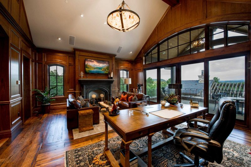 RHOD40 || Rustic Home Office Design || Wtsenates