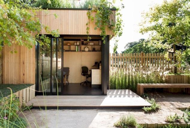 Wood Summer season Home - A Nice Undertaking   Backyard studio, Backyard office, Backyard
