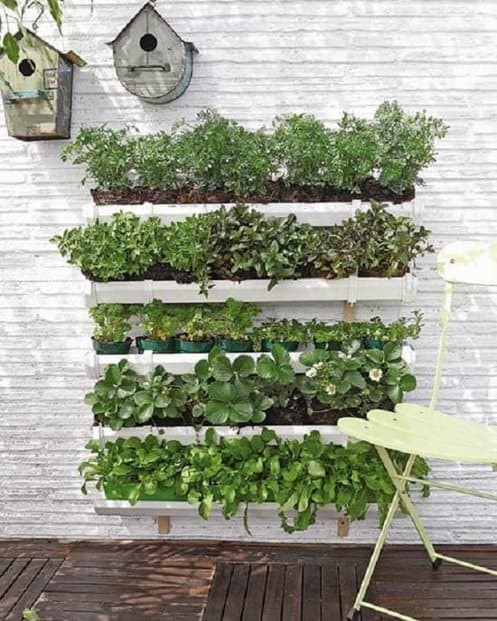 Recycled Plastic Wall Planter Pockets