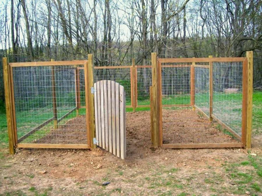 hog fencing ideas