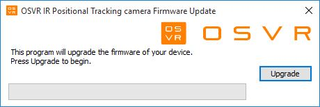 OSVR upgrade camera IR