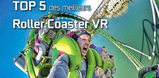 Top 5 roller coaster VR