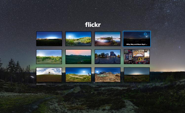flickr VR