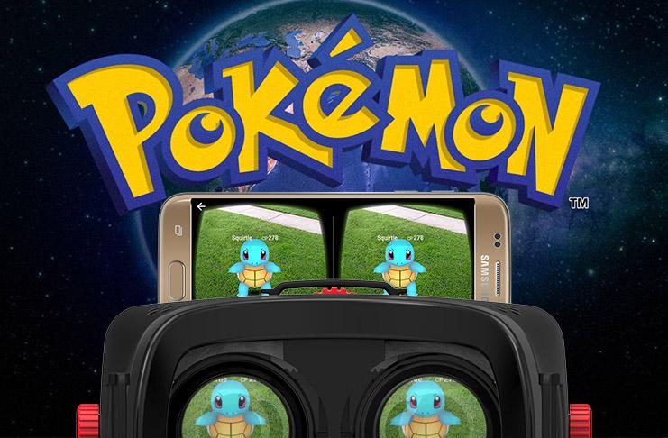 Pokemon Go VR