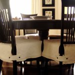 Dining Room Chair Covers Blue Beautifying Homifind