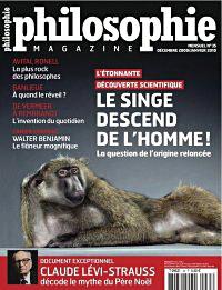 L'homme Ne Descend Pas Du Singe : l'homme, descend, singe, Singe, Descend, L'homme, Philosophie, Magazine, Hominidés