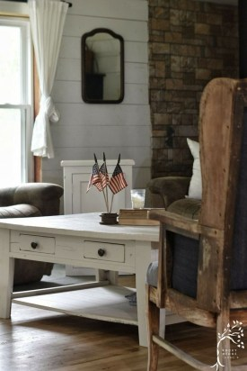 Afordable Livingroom Summer Decoration 25