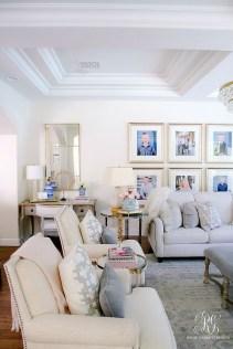 Afordable Livingroom Summer Decoration 31