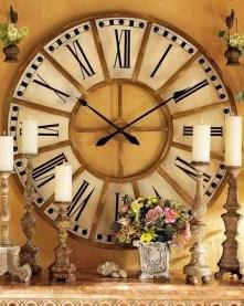Amazing Ancient Clock At Llivingroom 17