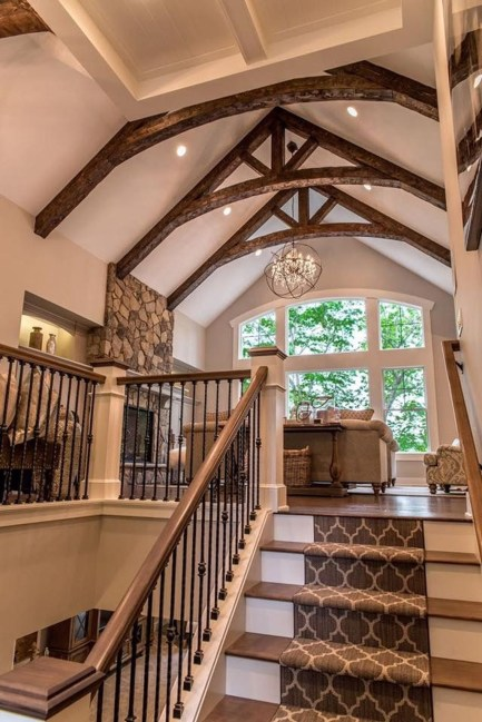 Amazing Wooden Stairs For Your Home 24