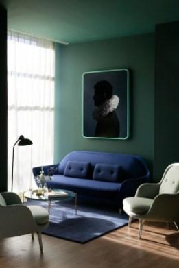 Cozy Green Livingroom Ideas 08