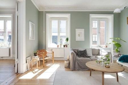 Cozy Green Livingroom Ideas 20