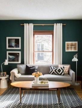 Cozy Green Livingroom Ideas 40