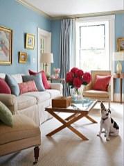 Lovely Blue Livigroom Ideas 04
