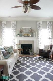 Lovely Blue Livigroom Ideas 14
