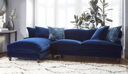 Lovely Blue Livigroom Ideas 17