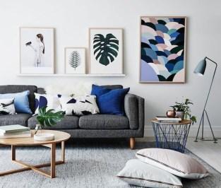 Lovely Blue Livigroom Ideas 31