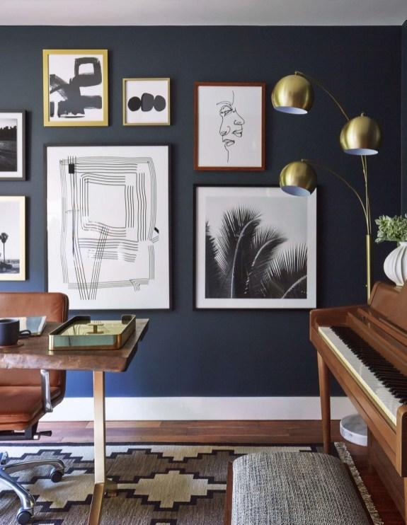 Lovely Blue Livigroom Ideas 33