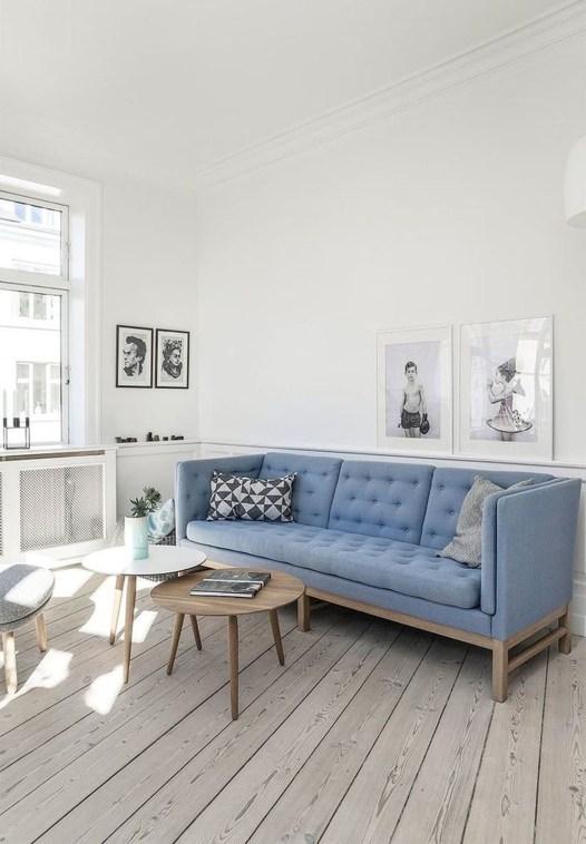 Lovely Blue Livigroom Ideas 43