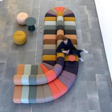Lovely Colourful Sofa Ideas 20