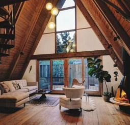 Unique Wooden Attic Ideas 31