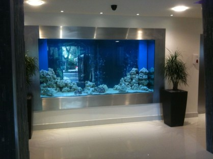 Amazing Aquarium Design Ideas Indoor Decorations 34