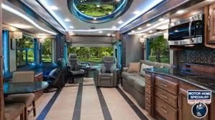 Amazing Luxury Travel Trailers Interior Design Ideas 26