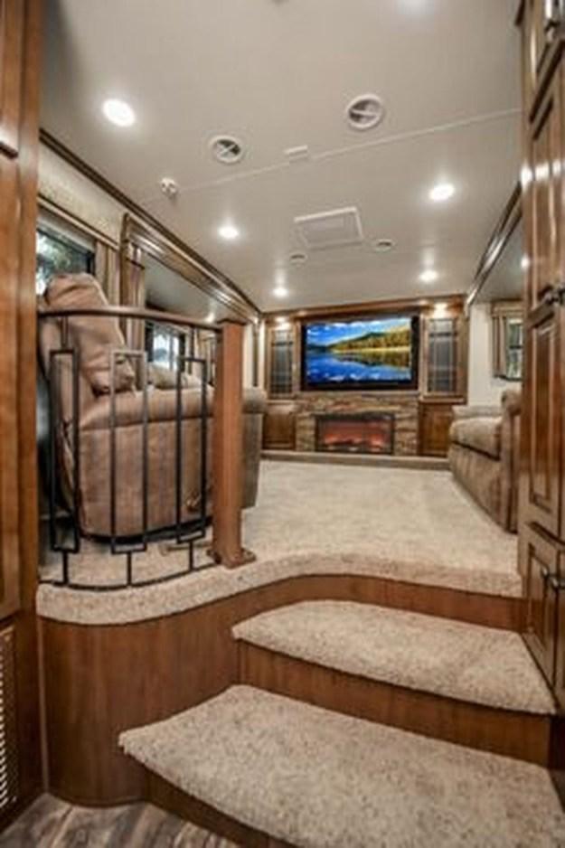 Amazing Luxury Travel Trailers Interior Design Ideas 36