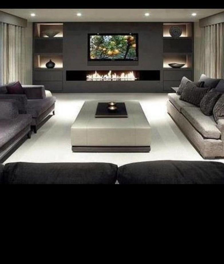 Amazing Modern Apartment Living Room Design Ideas 40