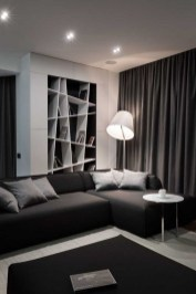 Amazing Modern Apartment Living Room Design Ideas 44