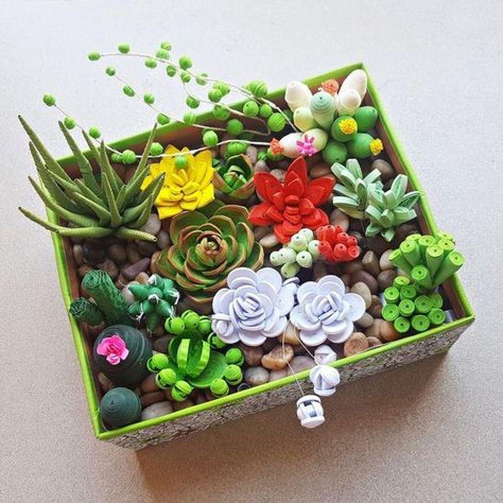 Amazing Succulents Garden Decor Ideas 24