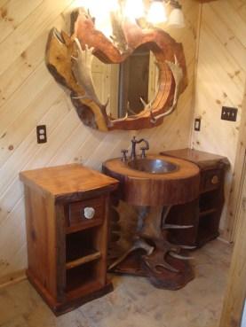 Awesome Country Mirror Bathroom Decor Ideas 02