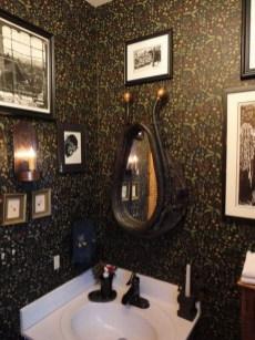 Awesome Country Mirror Bathroom Decor Ideas 16