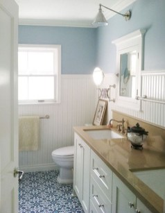 Awesome Country Mirror Bathroom Decor Ideas 18