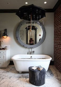 Awesome Country Mirror Bathroom Decor Ideas 34