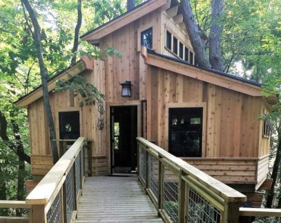 Awesome Treehouse Masters Design Ideas Will Make Dream 01