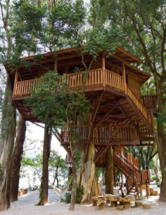 Awesome Treehouse Masters Design Ideas Will Make Dream 14