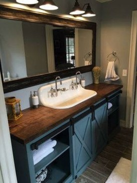 Cozy Wooden Bathroom Designs Ideas 06