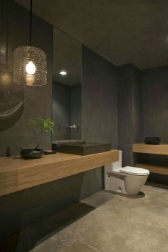 Cozy Wooden Bathroom Designs Ideas 07