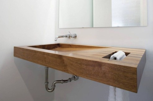 Cozy Wooden Bathroom Designs Ideas 11
