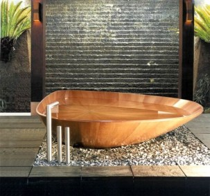 Cozy Wooden Bathroom Designs Ideas 20