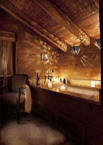 Cozy Wooden Bathroom Designs Ideas 36
