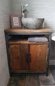 Cozy Wooden Bathroom Designs Ideas 38