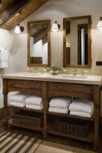 Cozy Wooden Bathroom Designs Ideas 41