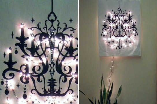 Creative Diy Chandelier Lamp Lighting 25