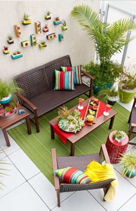 Creative Small Patio Design Ideas 09